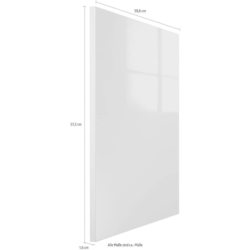 OPTIFIT Frontblende »Cara«, Tür für teilintegierbaren Geschirrspüler 60 cm