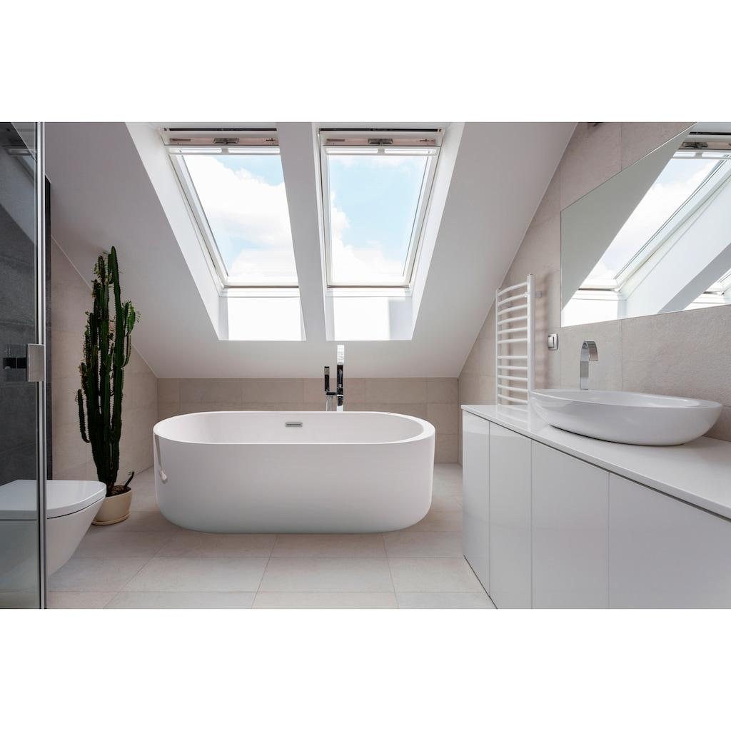 HOME DELUXE Whirlpool-Badewanne »Bola Plus«, B/T/H: 170 / 80 / 58 cm, freistehend
