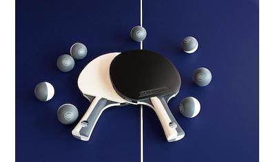 Joola Tischtennisschläger »JOOLA Tischtennis - Set BLACK + WHITE« (Set, 10 - tlg., mit Bällen) kaufen