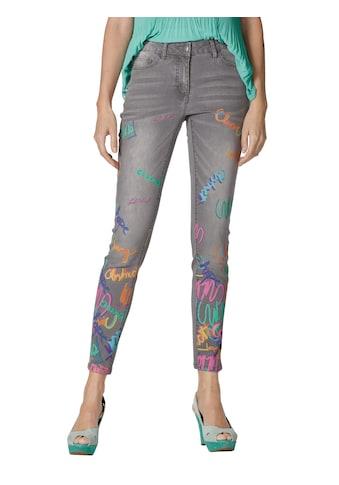 Amy Vermont 7/8-Jeans, mit Druck im Vorderteil kaufen