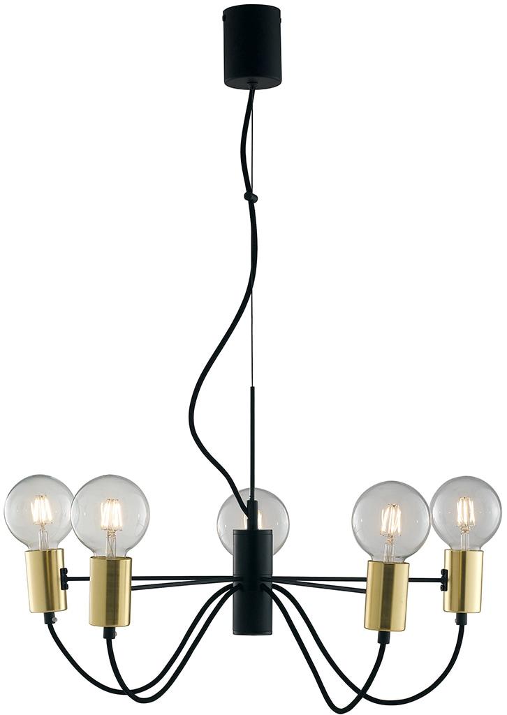 LUCE Design Pendelleuchte I-AXON-S5, E27, 1 St.