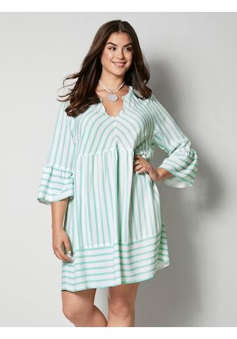 Angel of Style by HAPPYsize Kleid mit Volants kaufen