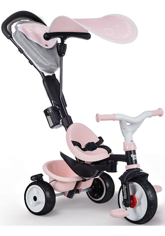 Smoby Dreirad »Baby Driver Plus, rosa«, Made in Europe kaufen