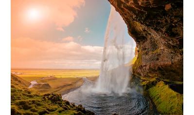 Papermoon Fototapete »Amazing Waterfall Iceland« kaufen