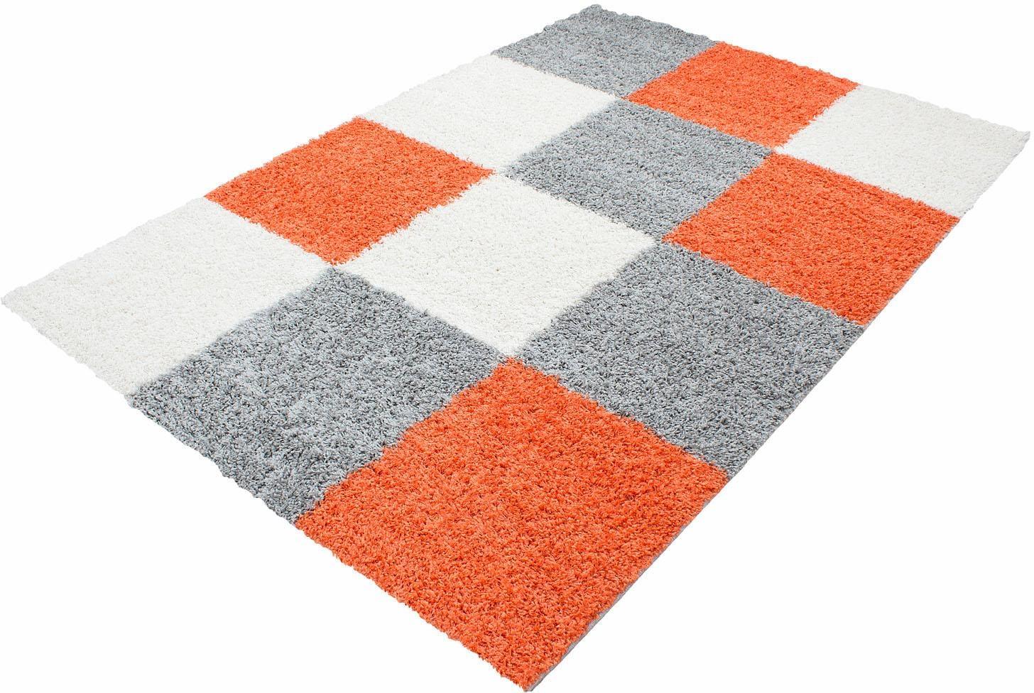 Hochflor-Teppich, Ayyildiz, »Life Shaggy 1501«, Höhe 30 mm | Heimtextilien > Teppiche > Hochflorteppiche | Orange | AYYILDIZ TEPPICHE