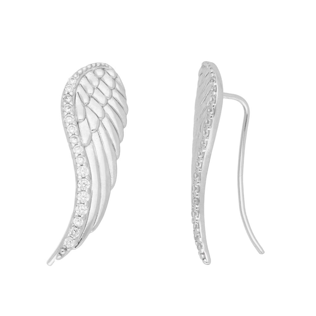 Vivance Paar Ohrhaken »Earclimber Flügel«