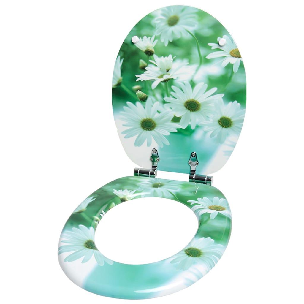 Sanilo WC-Sitz »Margeriten«, mit Absenkautomatik