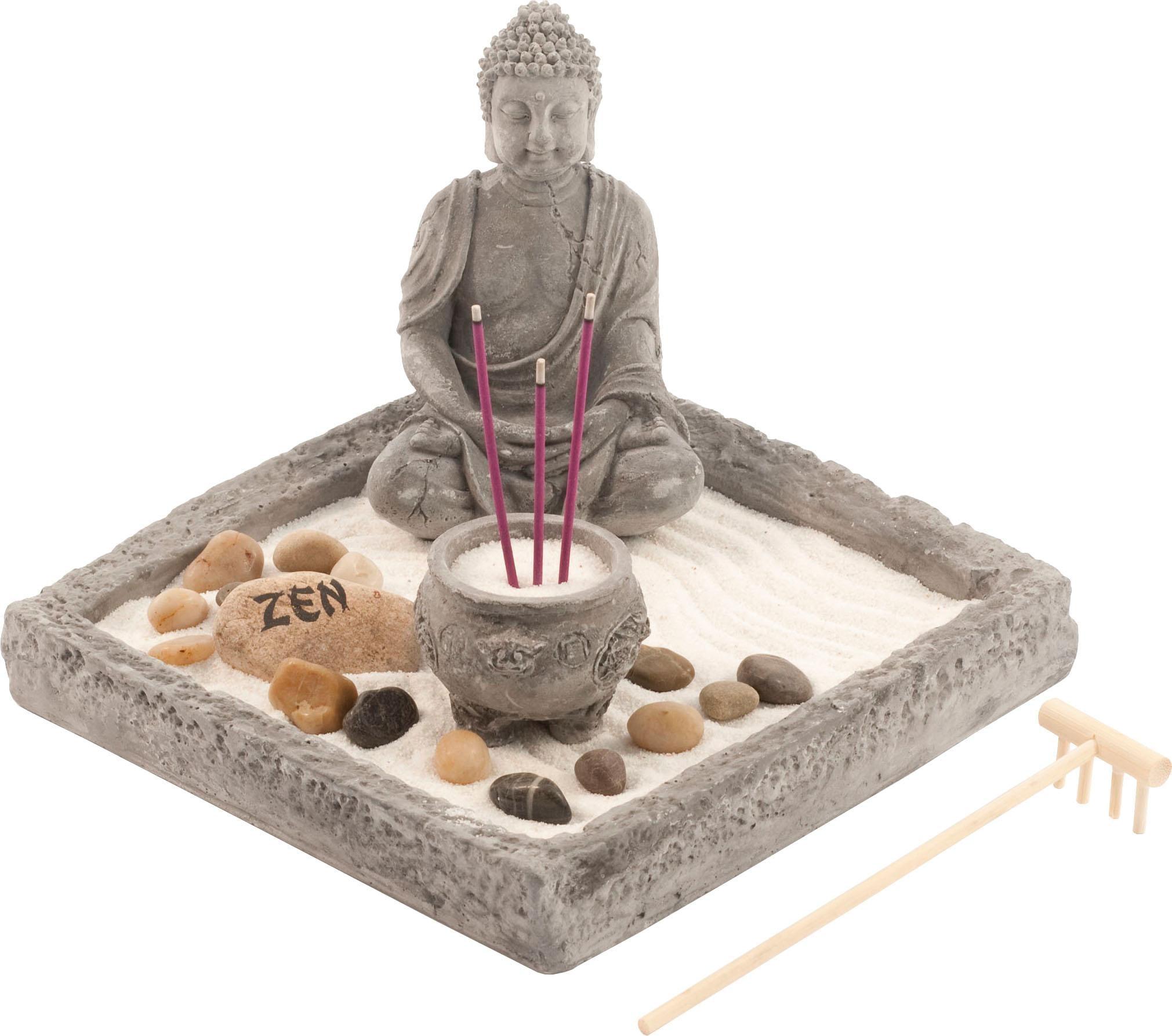 Home affaire Buddhafigur Buddha Wohnen/Accessoires & Leuchten/Wohnaccessoires/Figuren & Skulpturen/Weitere Figuren & Skulpturen