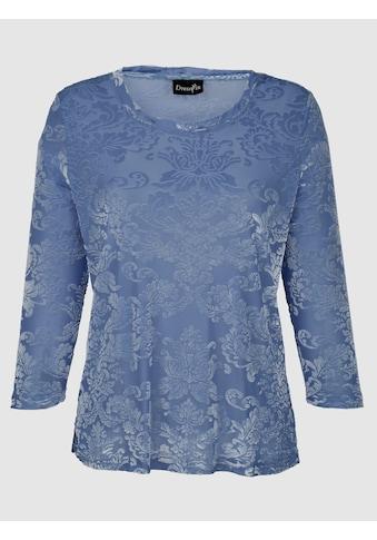 Dress In Shirt in edler Ausbrenner - Optik kaufen