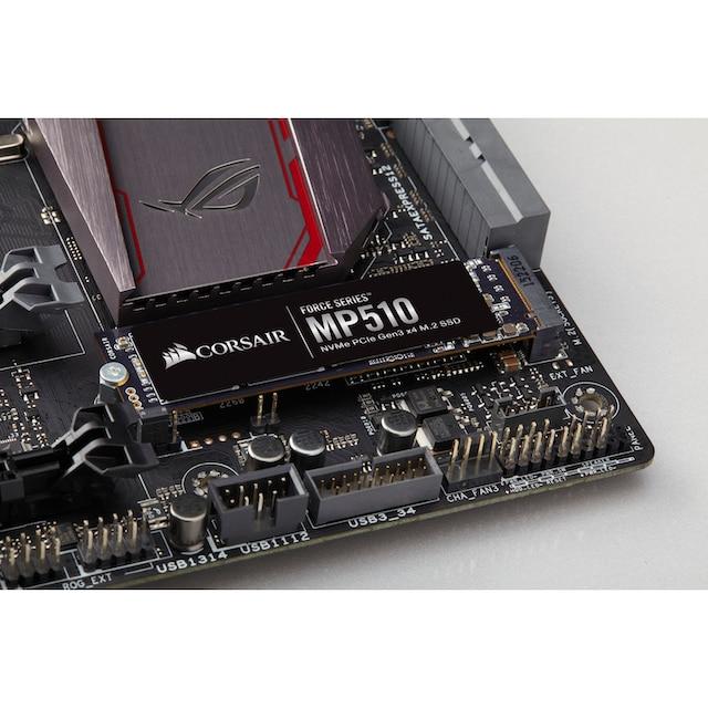Corsair »Force Series™ MP510« SSD-Festplatte