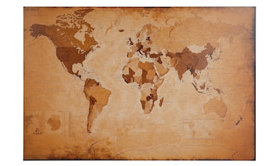 Home affaire Bild »Weltkarte  -  antik« kaufen