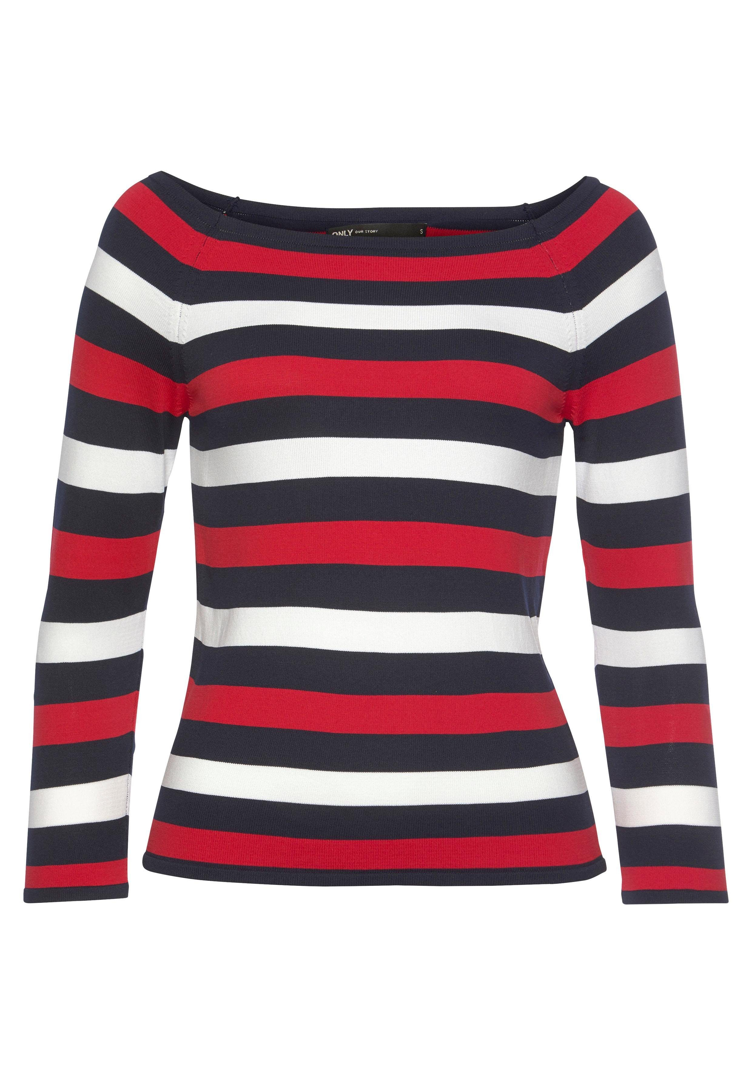 Only 3/4 Arm-Pullover ONLNELIA | Bekleidung > Pullover > 3/4 Arm-Pullover | Only