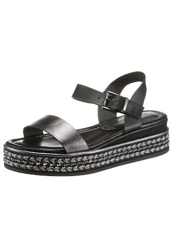 MARCO TOZZI Sandale, mit Ziernieten an der Sohle kaufen