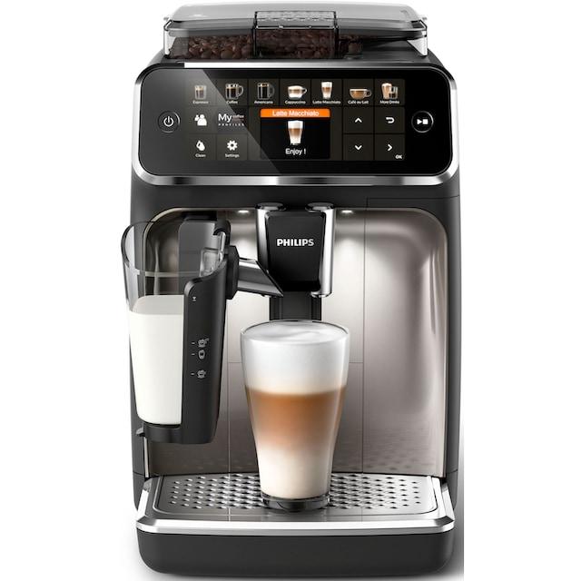 Philips Kaffeevollautomat 5400 Series EP5447/90, 1,8l Tank