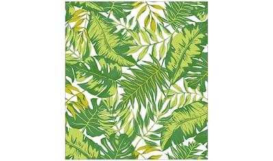 MySpotti Fensterfolie »Look Palm Leaves green«, halbtransparent, glattstatisch... kaufen