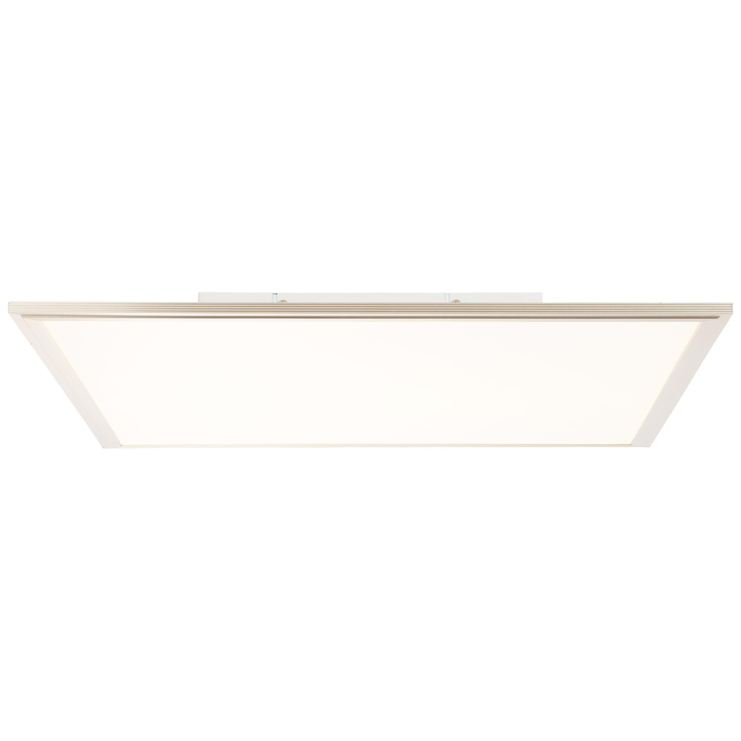 AEG Bendix LED Deckenaufbau-Paneel 60x60cm Tageslichtsensor nickel