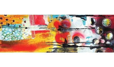 Wandbild »Abstract II« (auf 12 mm MDF Platte, 100/1,2/35 cm) kaufen