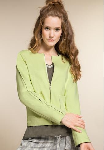 bianca Kurzjacke »KAREN«, angesagtes Design in der sommerlichen Trendfarbe kaufen