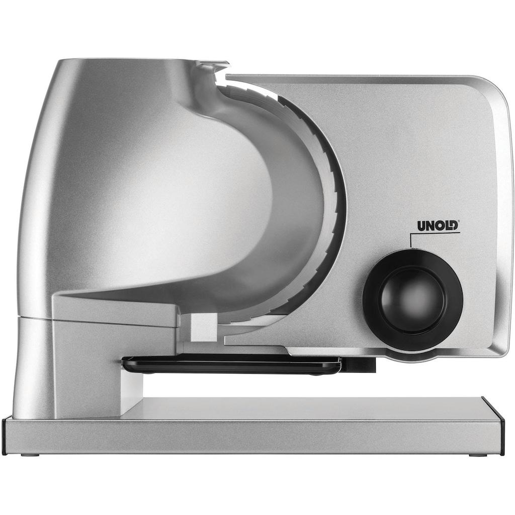 Unold Allesschneider »Metall Plus 78826«, 100 W
