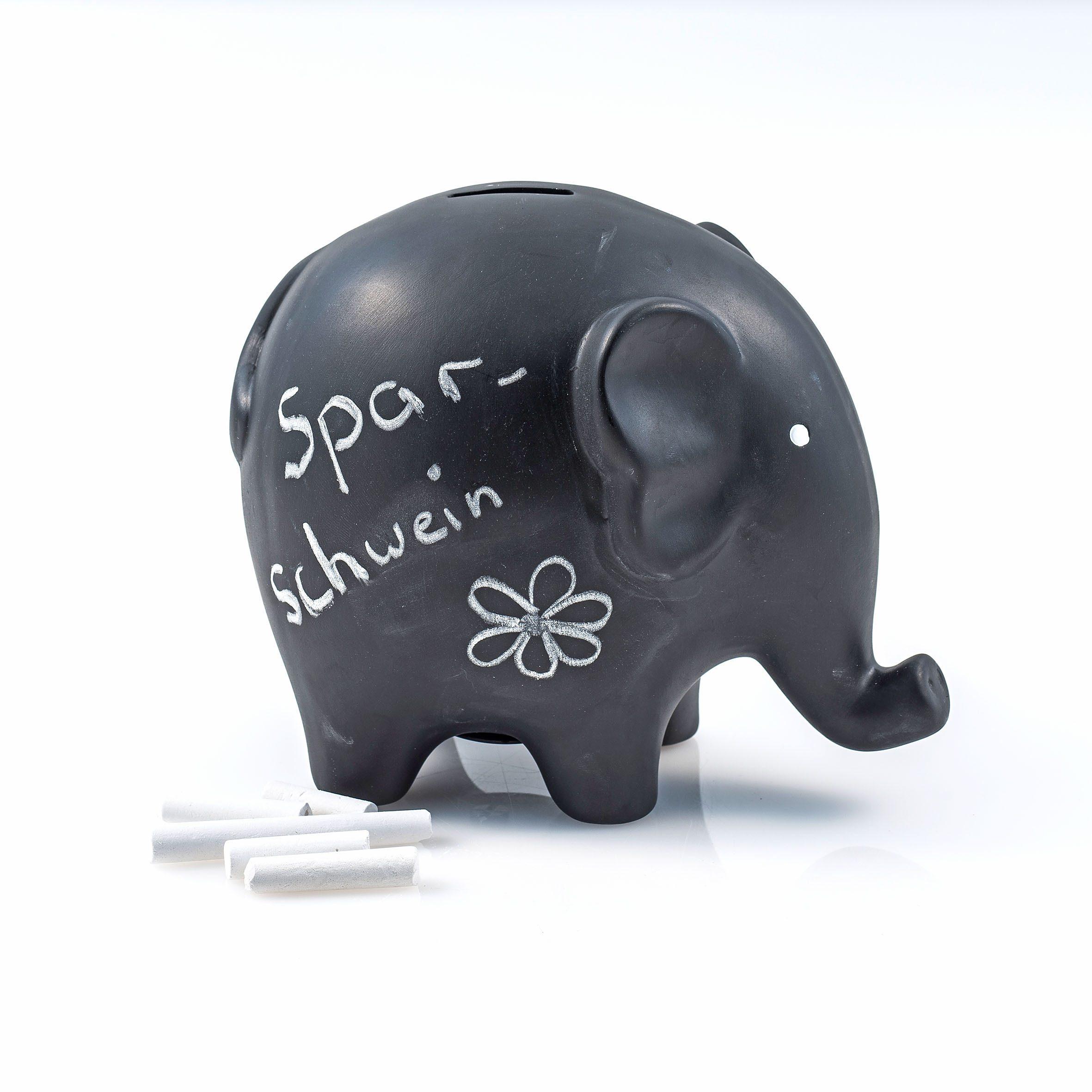 Home affaire Aufbewahrungsbox Elefant Kindermode/Schmuck & Accessoires/Taschen/Geldbeutel