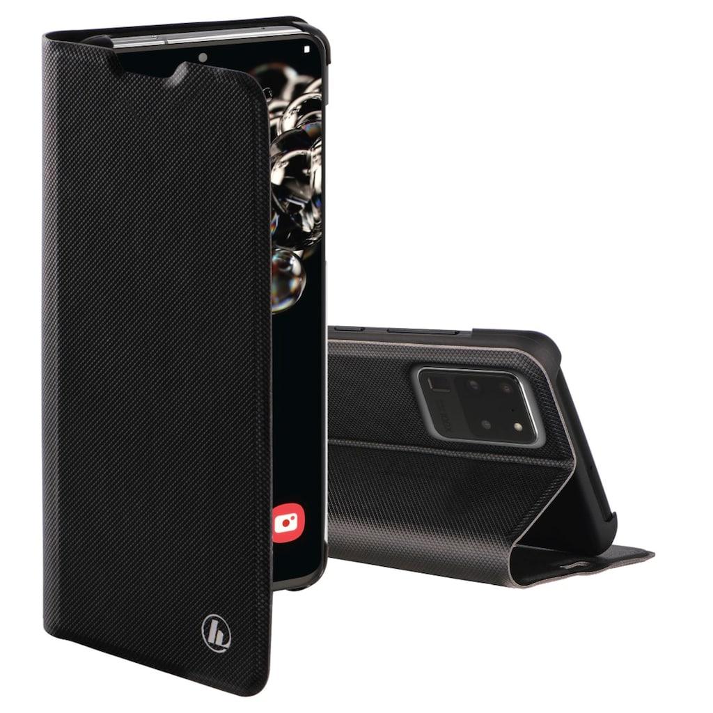 Hama Booklet Hülle Tasche für Samsung Galaxy S20 Ultra, Schwarz
