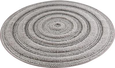 MINT RUGS Teppich »Nador«, rund, 22 mm Höhe, Hoch-Tief-Struktur, Wohnzimmer kaufen