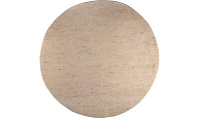 THEKO Wollteppich »Hadj Uni«, rund, 25 mm Höhe, echter Berber, reine Wolle,... kaufen