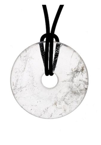 Adelia´s Kettenanhänger »Bergkristall Anhänger transparent«, Bergkristall transparent kaufen