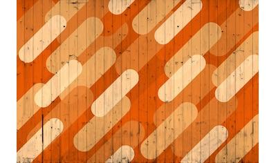 Architects Paper Fototapete »Atelier 47 Pill Pattern 2«, Holz kaufen
