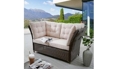 DESTINY Loungesofa »Palma«, 2er - Sitzer, Polyrattan, inkl. Auflagen kaufen