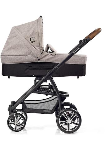 Gesslein Kombi-Kinderwagen »F4 Air+« mit Babywanne »C3, Stein meliert/Tupfen«, Made in... kaufen