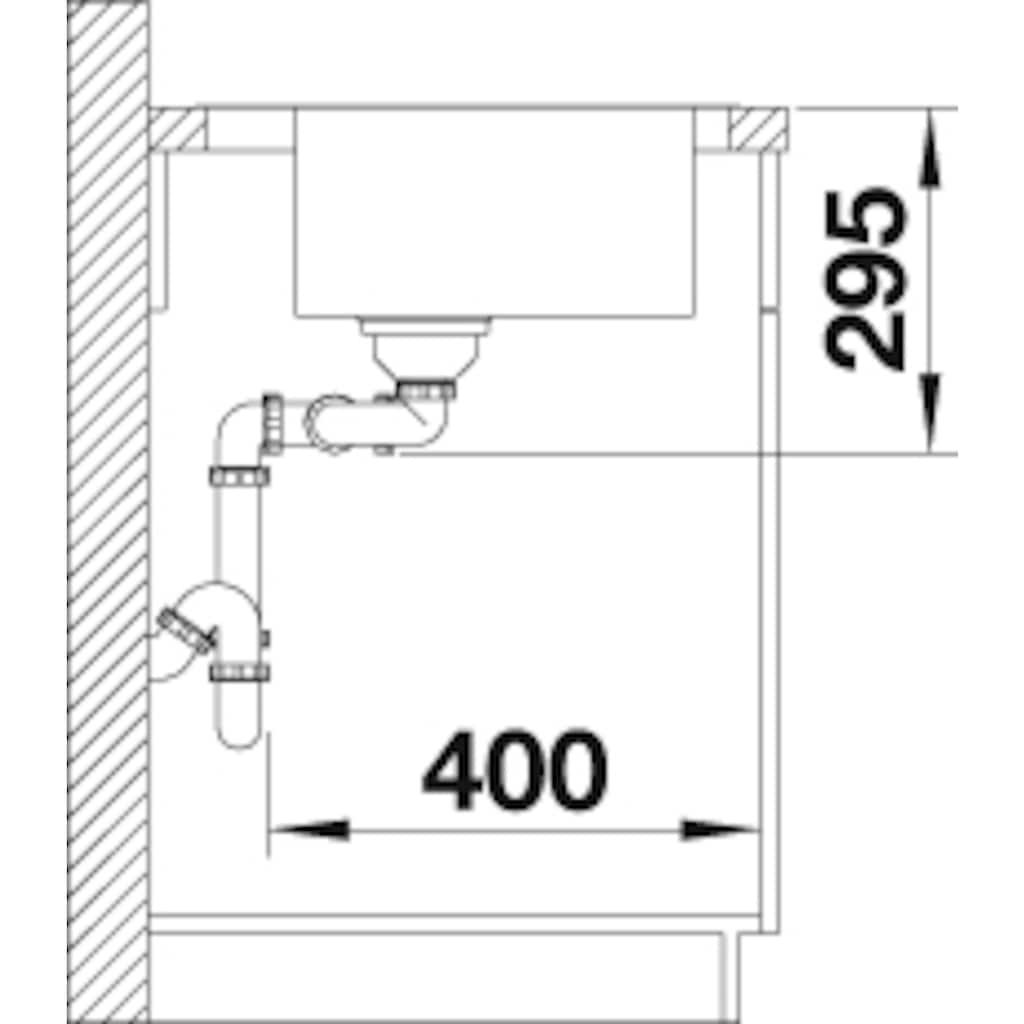 Blanco Küchenspüle »DIVON II 8 S-IF«