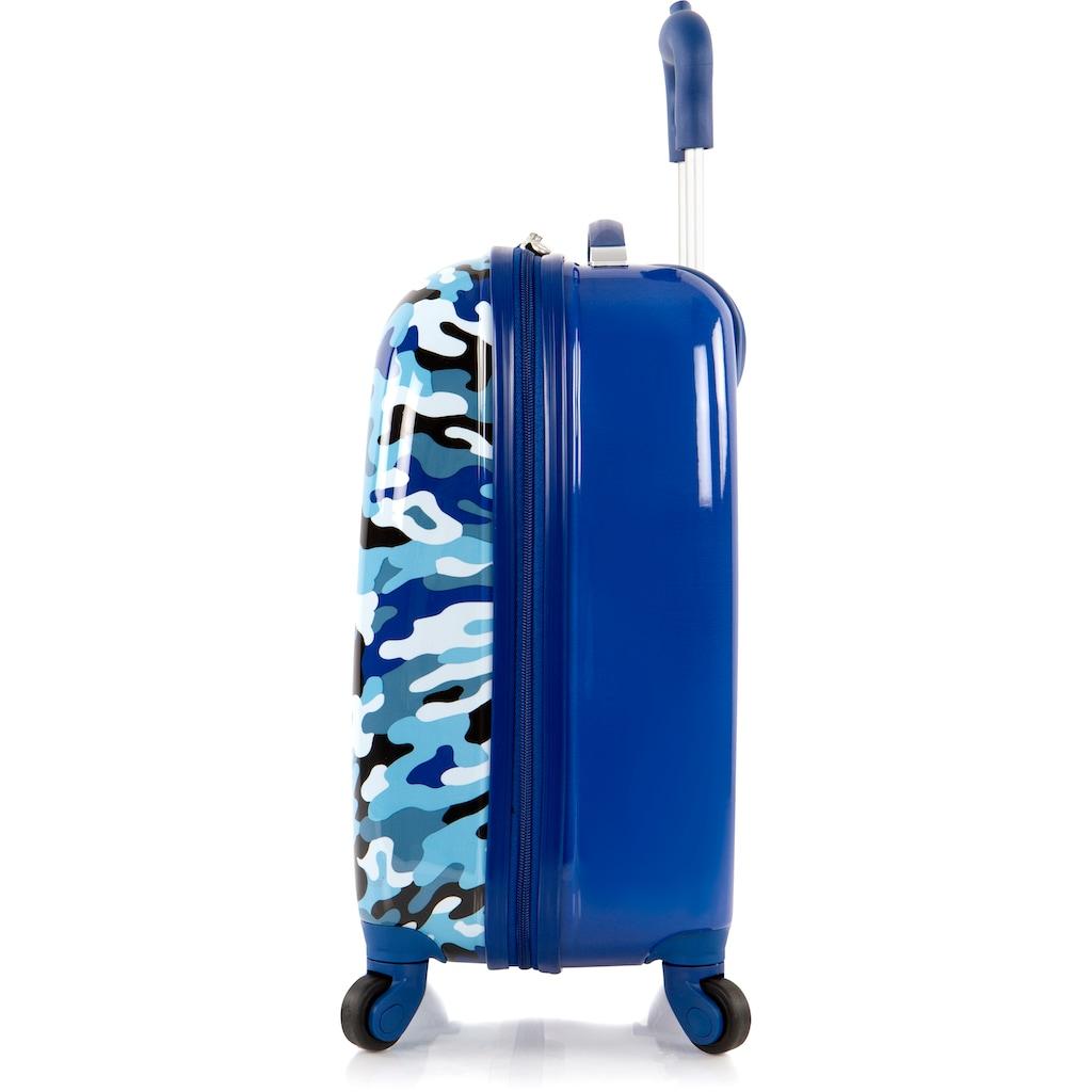 Heys Kinderkoffer »Fashion, Blau Camo«, 4 Rollen