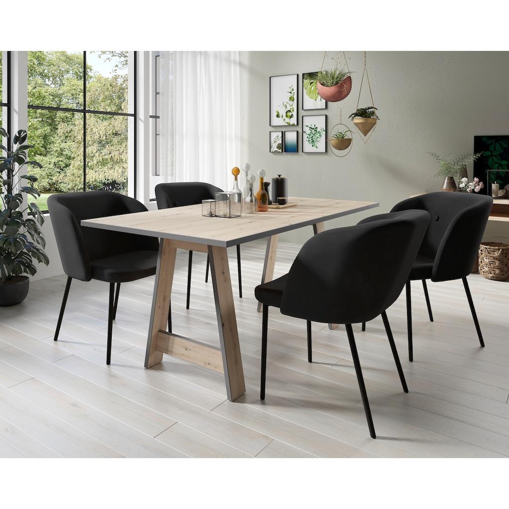 Homexperts Esstisch »Till«, Breite 160 cm, Gestell in A-Form