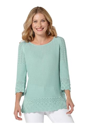 Inspirationen Ajourpullover »Pullover« kaufen