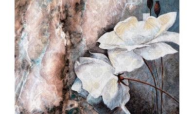 CONSALNET Vliestapete »Muster mit Blumen«, in verschiedenen Größen kaufen