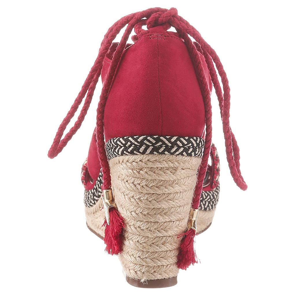 Tamaris Sandalette »Cynara«, im trendigen Ethno-Style