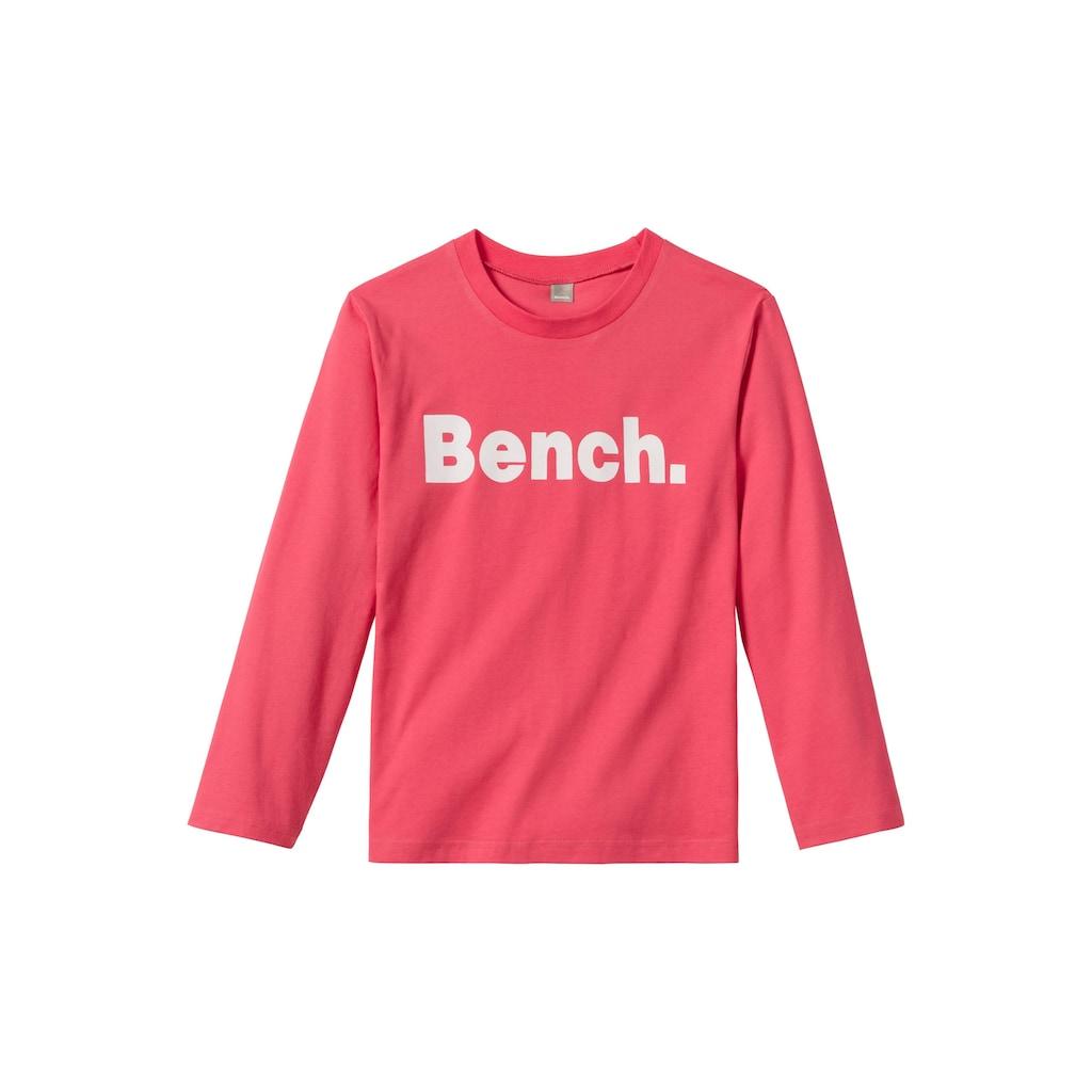 Bench. Pyjama, melierte Hose mit Sternchen Druck