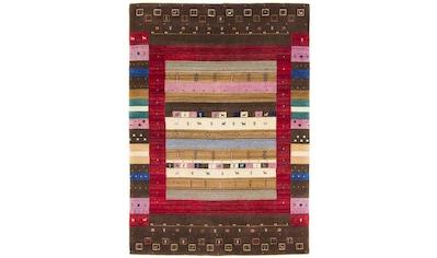 carpetfine Wollteppich »Gabbeh Raj«, rechteckig, 15 mm Höhe, reine Wolle, sehr weicher... kaufen