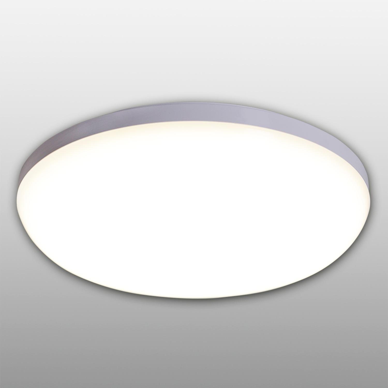 näve LED Deckenleuchte Garda, LED-Board, Neutralweiß, LED Deckenlampe