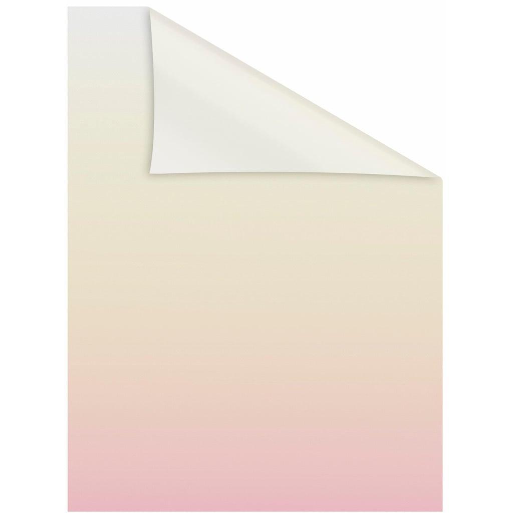 LICHTBLICK ORIGINAL Fensterfolie »Ombre Rosa«, 1 St., blickdicht, strukturiertKlebepunkte, selbstklebend, Sichtschutz