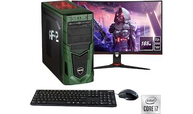 "Hyrican Gaming-PC-Komplettsystem »Military SET02096«, inklusive 27"" Monitor AOC... kaufen"