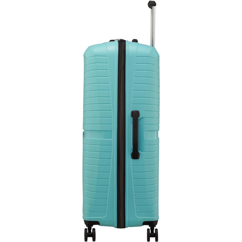 American Tourister® Hartschalen-Trolley »Airconic, 77 cm, purist blue«, 4 Rollen