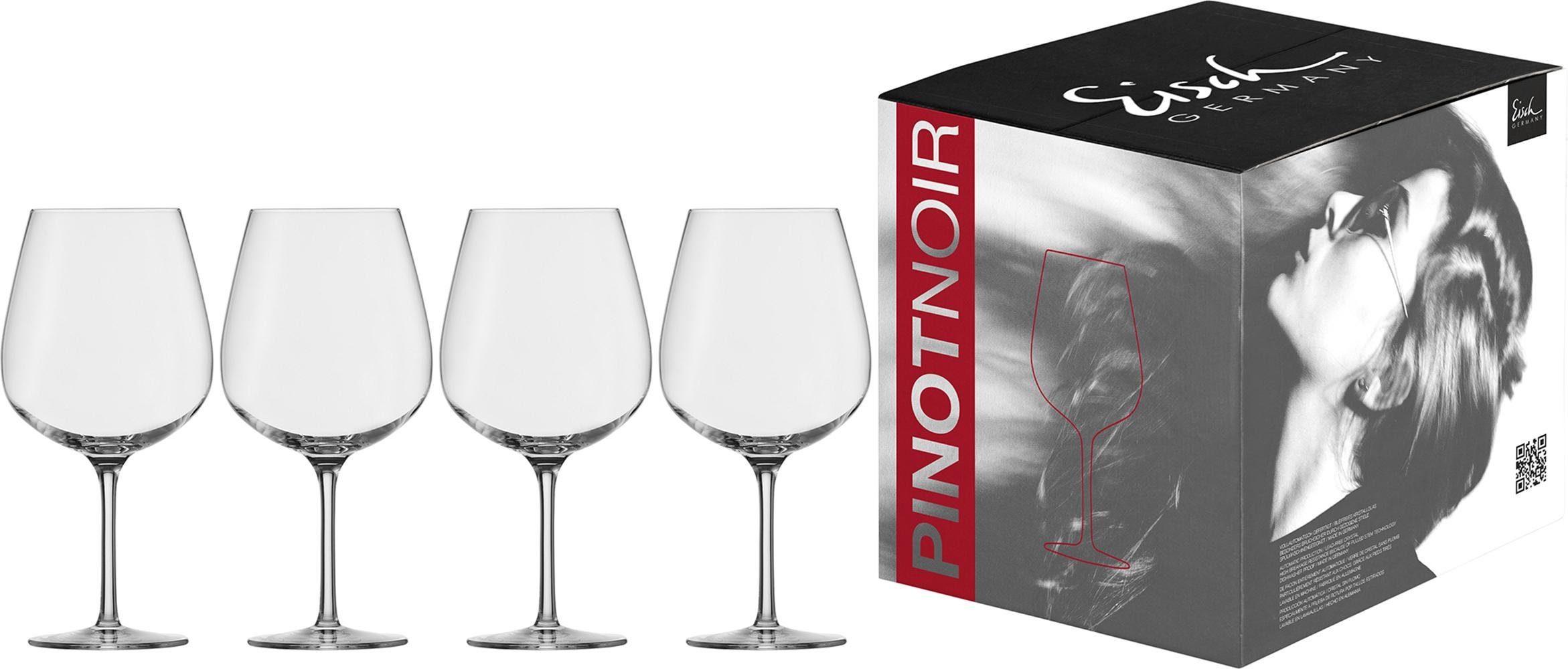 Eisch Rotweinglas Vinezza, (Set, 4 tlg.), bleifreies Kristallglas, 735 ml farblos Kristallgläser Gläser Glaswaren Haushaltswaren