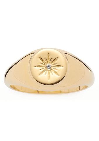 LEONARDO Fingerring »Rosella, 017936, 017937, 017938«, mit Kristallstein kaufen