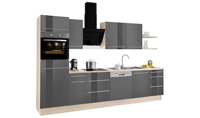 OPTIFIT Küchenzeile »Bern«, mit E-Geräten, Breite 270 cm, mit höhenverstellbaren... kaufen