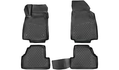 WALSER Passform-Fußmatten »XTR«, Opel, Mokka, Geländewagen, (4 St., 2 Vordermatten, 2... kaufen