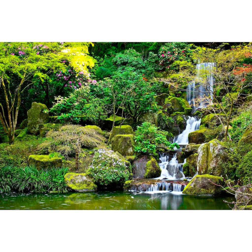 Papermoon Fototapete »Garden Pond«