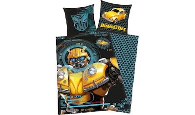 Transformers Kinderbettwäsche »Bumblebee«, mit coolem Motiv kaufen
