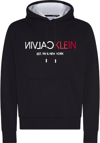 Calvin Klein Hoodie »TEXT REVERSE FRONT LOGO HOODIE« kaufen